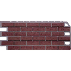 Фасадная панель FineBer Кирпич Красный 1130х470 мм