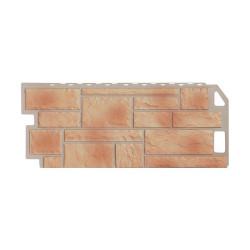 Фасадная панель FineBer Камень Бежевый 1130х470 мм