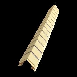 Угол наружный Кирпич Славянка Желтый, 1000 мм